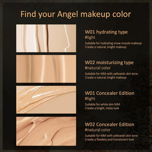 Angel Cupid Air Cushion Moisturizing BB Cream Base Foundation Whitening Face Cream Concealer Primer