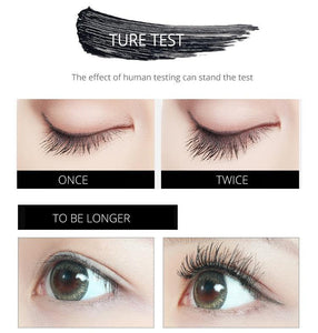 Color Mascara Female Waterproof Long Curling Encryption Long Growth Is Not Smudge Liquid Network Red Genuine - moonaro