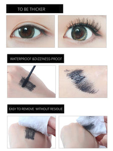 Color Mascara Female Waterproof Long Curling Encryption Long Growth Is Not Smudge Liquid Network Red Genuine