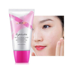 Load image into Gallery viewer, Exfoliating Peeling Gel Deep Clean Hyaluronic Acid Smoothen Facial Scrub Gel Polish Acne Blackhead Remove Face Cleanser