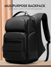 Load image into Gallery viewer, Travel Backpack Men Multifunctional 15.6 inch Laptop Space Bag Water Repellent Teenage Business Backpack