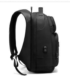 Travel Backpack Men Multifunctional 15.6 inch Laptop Space Bag Water Repellent Teenage Business Backpack