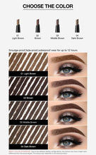 Load image into Gallery viewer, Eyebrow Pen Waterproof Long Lasting Eyebrow Tattoo Pencil 4 Colors Eye Brow Enhancer Tint Natural Cosmetic Makeup