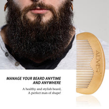 Load image into Gallery viewer, Beard Care Set Bear Oil Beard Wax Cream Balm Cleaning Liquid Beard Brushes Combs