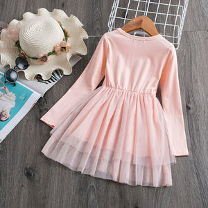 Girl Party Wear Children Clothes Dress Girl Boutique Clothing Little Princes Kids Dresses For Girl Shirt Tops Dress