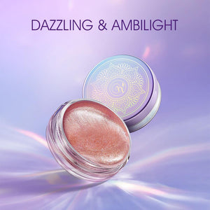 New 4 Colors Pigmented Liquid Eyeshadow Matt Long Lasting Highlight Waterproof shimmer Glitter Cosmetic