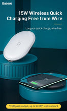 Load image into Gallery viewer, 15W Qi Wireless Charger For iPhone 11 Pro Max Airpods Fast Wireless Charging Induction Charger Pad For Samsung Xiaomi Mi
