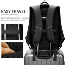 Load image into Gallery viewer, Travel Backpack Men 15.6 inch Laptop Bags Teenage Male Mochila Water Repellent Multifunction Backpacks