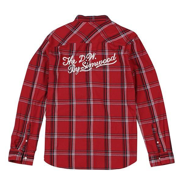 spring Casual Plaid Shirts Men High Quality Letter Embroidered Shirt Male High Quality Brand Clothing