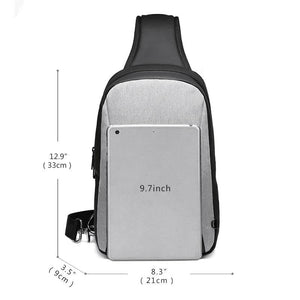 Short Trip Chest Pack Casual Messengers Bags Water Repellent Chest Bag Shopping Travel Crossbody Bags Male