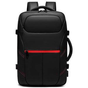 Men Travel Backpack Expandable Large Capacity Male Bag USB Charging 15.6 inch Laptop Backpack Waterproof