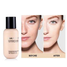 Load image into Gallery viewer, Waterproof Drop Foundation Liquid Faces Makeup Oil control Concealer Cosmetics Matte Foundation Velvet Texture