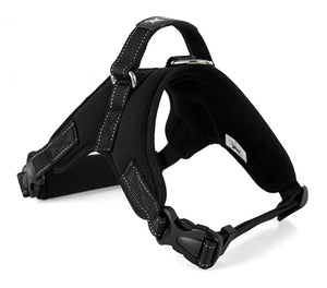 Dog Soft Adjustable Harness Pet Large Dog Walk Out Harness Vest Collar Hand Strap Pet Products Dog Harness Accessories