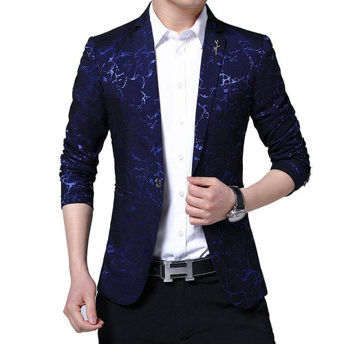 Men's Blazers Male Slim  Business Casual Blazer Coat Jacket Coat Brand Outwear Men Casual Wear