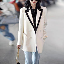 Load image into Gallery viewer, Women Casual Blazers Notched Collar Long Sleeve Loose Coat Blazer Fashion Work Wear