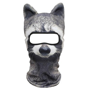 3D Animal Fleece Warm Balaclava Full Face Mask Winter Thermal Helmet Liner Ski Cycling Snowboard Bike