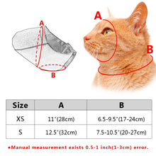 Load image into Gallery viewer, Breathable Mesh Cat Anti Bite Muzzles Cat Kitten Bath Beauty Grooming Supplies Cat Mask Mouth Cover Anti Biting Chewing Bath Bag