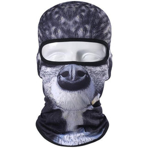 Balaclava Motorcycle Full Face Mask 3D Animal Cat Dog Hats Helmet Windproof Breathable Airsoft Paintball Snowboard Cycling Ski
