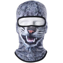 Load image into Gallery viewer, Balaclava Motorcycle Full Face Mask 3D Animal Cat Dog Hats Helmet Windproof Breathable Airsoft Paintball Snowboard Cycling Ski