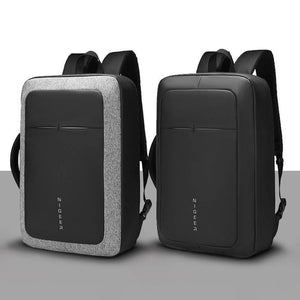 "Male Business 17"" Laptop Backpack Water Repellent USB Charging Multifunction Rucksack Fashion Travel Backpacks Men"
