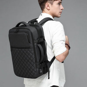 Multifunction Men Travel Backpack Large Capacity Teenager Male Mochila USB Charging 15.6 inch Laptop Backpack