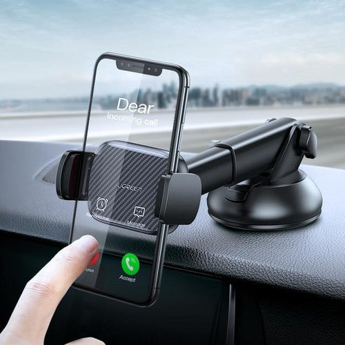 Car Phone Holder No Magnetic Vent Mount Holder in the Car Support for iPhone 11 Pro Suction Cup Support Holder - moonaro