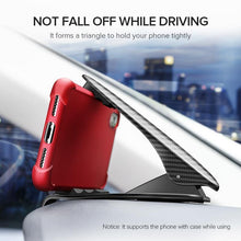 Load image into Gallery viewer, Car Phone Holder for Phone Adjustable Holder on Car Dashboard Mobile Phone Holder Stand In Car Car Holder