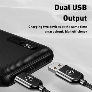 Power Bank 20000mAh Dual USB Fast Charge powerbank External Battery Bank For Xiaomi iPhone 11 Samsung LG Portable Charger