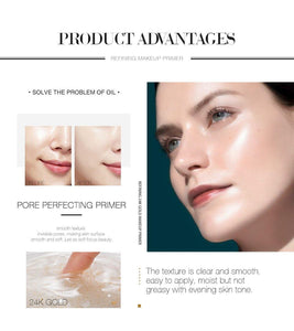 Transparent Face Primer Oil Make Up Base Foundation Primer Makeup Cream Moisturizing Oil Control Smoothing Face Primer