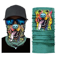 Load image into Gallery viewer, Motorcycle Balaclava Face Mask Men's Outdoor Sports Windproof head Mask animal pattern motocross face mask motorcycle