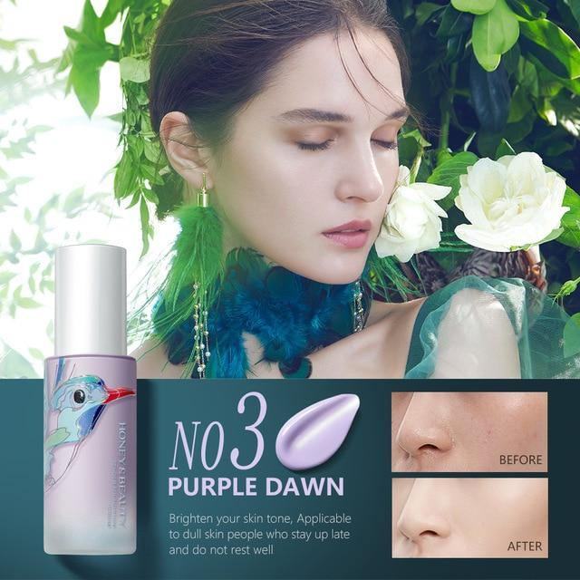 New Makeup Base Face Liquid Foundation Waterproof Moisturized Primer Full Coverage Concealer Matt Oil Control Cosmetic
