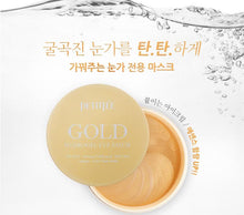 Load image into Gallery viewer, Gold Hydrogel Eye Patch 60 PCS Collagen Eye Mask Ageless Anti Wrinkle Eye Bags Dark Circles Puffy Cosmetics