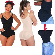 Load image into Gallery viewer, Waist Trainer butt lifter women bodysuit shapewear body shaper Slimming Corsets Corrective Underwear Modeling Strap
