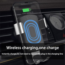 Load image into Gallery viewer, Car Qi Wireless Charger for iPhone XR XS Max 8 Gravity Holder Fast Wireless Charging Air Vent Mount for Car Phone Charger