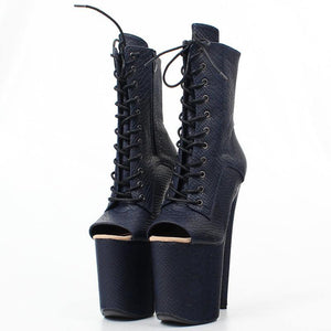 Gothic Party Dancing Working Clubwear Sexy High Heel Ankle Boots Fashion Women Boots