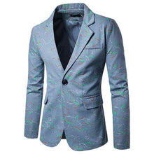 Load image into Gallery viewer, Formal Wear men blazer Colorful paint pattern Tuxedos Coat men's blazer jacket