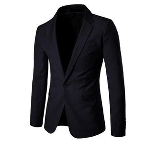 Dress Men's Blazers And Coat Jackets Blazer Casual Men Blazer Slim Fit Black Navy Gray Coat