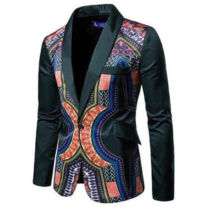 Men's Blazers Floral Designs And Coat Jackets Casual Printing Men Blazer Slim Men's Coat Tuxedos Slim fit