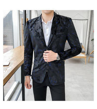 Load image into Gallery viewer, Tuxedos Men's Blazer Jacket Coat Casual Dress Jacket Stage Blazer Coat Fashion Slim fit Blazer