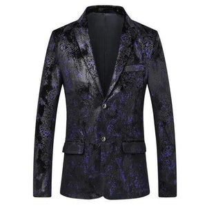 Tuxedos Men's Blazer Jacket Coat Casual Dress Jacket Stage Blazer Coat Fashion Slim fit Blazer