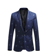 Load image into Gallery viewer, men clothing Casual blazer men Jacket slim fit Casual Coat & blazer