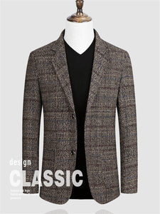 Men blazer Fashion Slim Coat jacket Men Business Casual Clothing High Quality Men's Coat