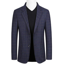 Load image into Gallery viewer, Men blazer Fashion Slim jacket Men Business Casual Blazer High Quality Men's Coat