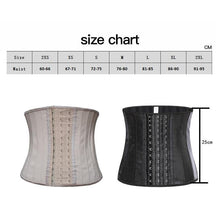 Load image into Gallery viewer, 25 Steel Bone Latex Waist Trainer Women Binders And Shapers Corset Modeling Strap Body Shaper Colombian Girdles Slimming Belt