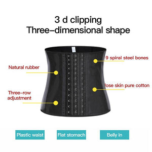 25 Steel Bone Latex Waist Trainer Women Binders And Shapers Corset Modeling Strap Body Shaper Colombian Girdles Slimming Belt