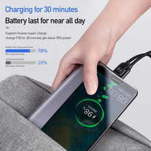 Load image into Gallery viewer, Power Bank 5A Super Fast Charge for Huawei External Battery VOOC QC3.0 FCP AFC for Samsung Oppo IPhone Portable PoverBank