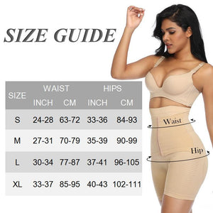 Women High Waist Shaping Panties Waist Trainer Body Shaper Shorts Tummy Control Underwear Butt Lifter Seamless Shaperwear