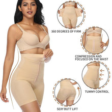 Load image into Gallery viewer, Women High Waist Shaping Panties Waist Trainer Body Shaper Shorts Tummy Control Underwear Butt Lifter Seamless Shaperwear