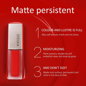 14 Colors Matt Moisturized Lip Gloss Pigmented Easy To Wear Makeup Maquiagem Lipgloss Long Lasting Cosmestic
