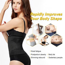 Load image into Gallery viewer, Steel Boned Body Shaper Waist Trainer Belt Corsets Women Postpartum Band Sexy Bustiers Corsage Modeling Strap